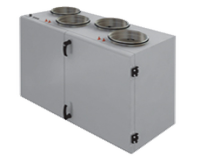 Компактная приточно-вытяжная установка с пластинчатым рекуператором SHUFT CAUP 250VEL-A