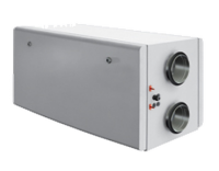 Компактная приточно-вытяжная установка с роторным рекуператором SHUFT CAUR 1500 SE-A
